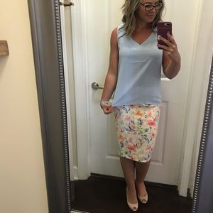 Floral skirt-new with tags